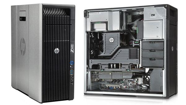 HP Z620 Workstation 2x I-Xeon 8-Core E5-2680 2 7Ghz/96GB/1TB