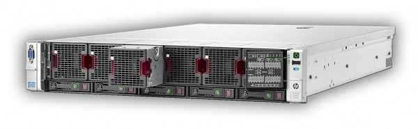 HP Proliant DL560 G8 4x I-Xeon 8-Core E5-4650L 2.6GHz/128GB/P420i2x1200W