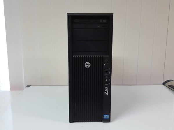 HP Z420 Workstation/1x I-XEON 8-Core E5-2680 2.7GHz/16GB /1TB HDD/NVS310