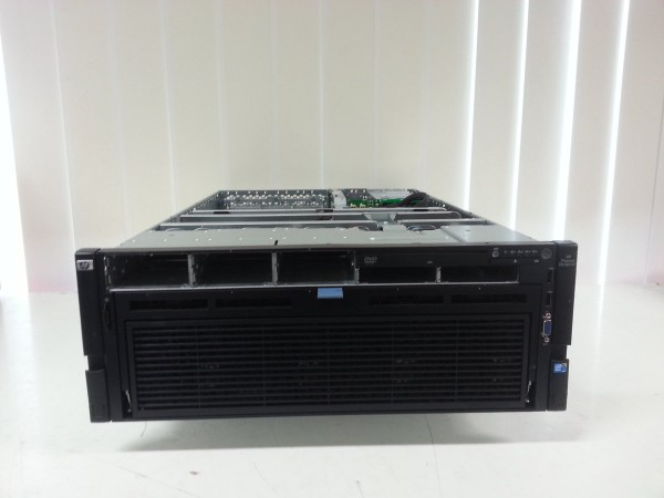 HP PROLIANT DL580 G7 XEON 6-CORE 4X E7540 24-CORES 2GHz/128GB/P410i/4x1200W