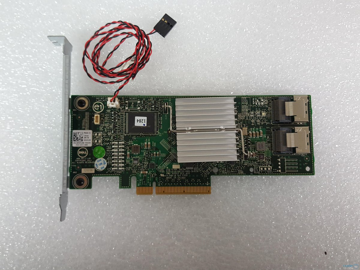 DELL PERC H310 INTERNAL SAS PCI EXPRESS RAID CARD - 0HV52W